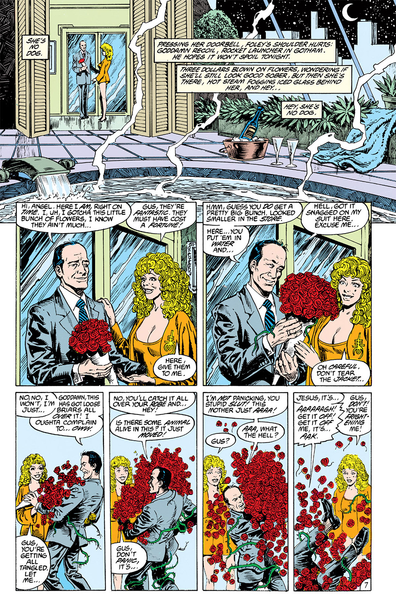 Swamp Thing (1982) Issue #63 #71 - English 7