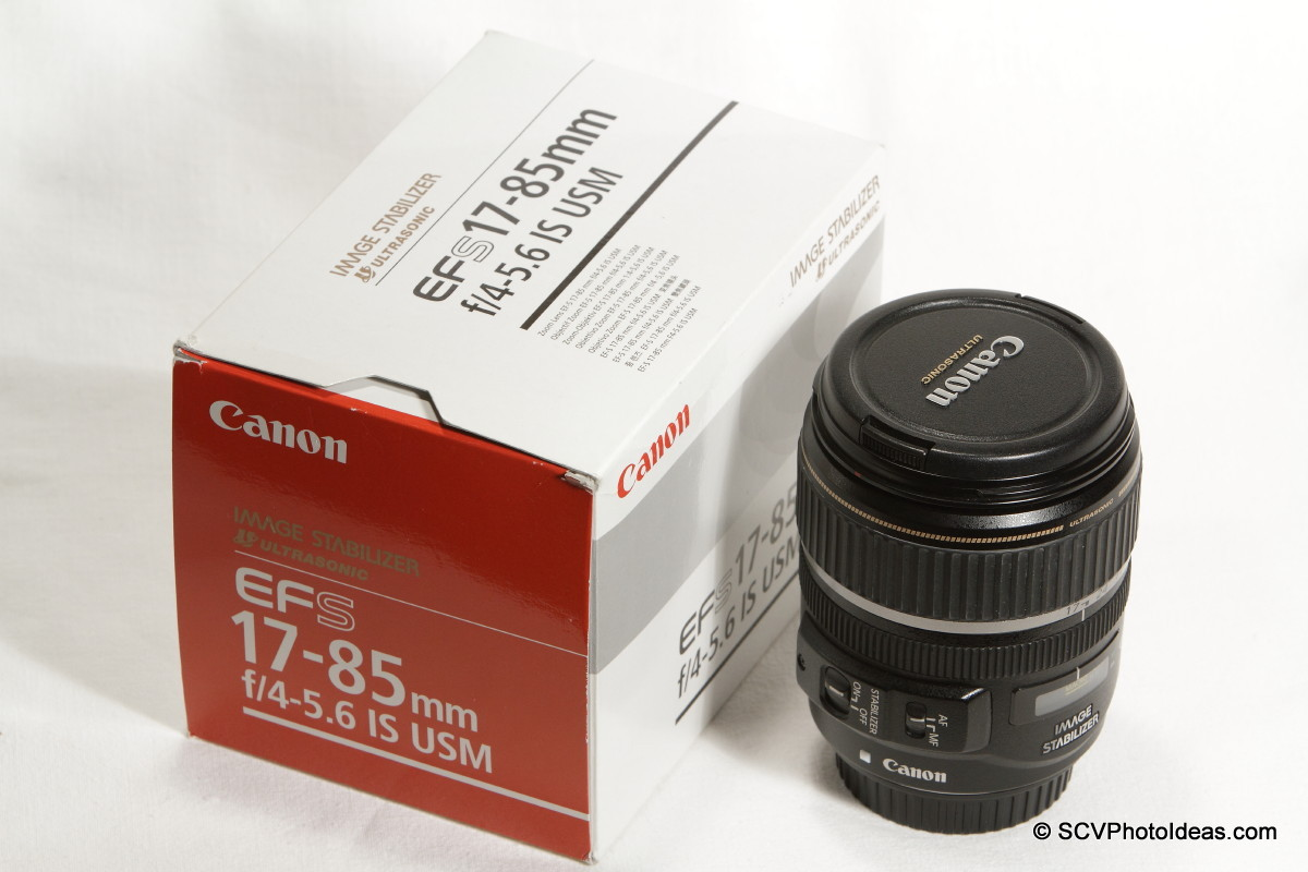 Canon EF-S 17-85mm F/4.0-5.6 IS USM w/ box
