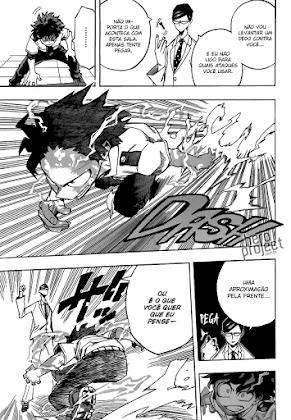 Mangá Boku No Hero Academia Capítulo 127