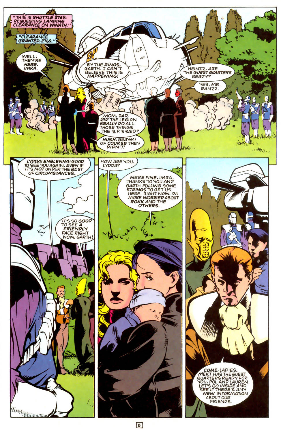 Legion of Super-Heroes (1989) 54 Page 7