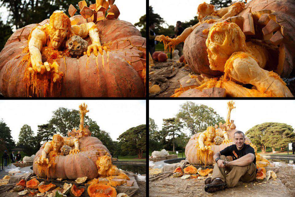 Predator Hunting Chair Posture Saddle Stool Ghost Theories: Most Badass Pumpkin Carvings Ever!