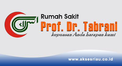 Lowongan Rumah Sakit Prof. Dr. Tabrani Pekanbaru November 2017