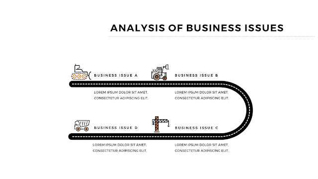 Infographic Analysis of Business Issues Free PowerPoint Template Slide 4