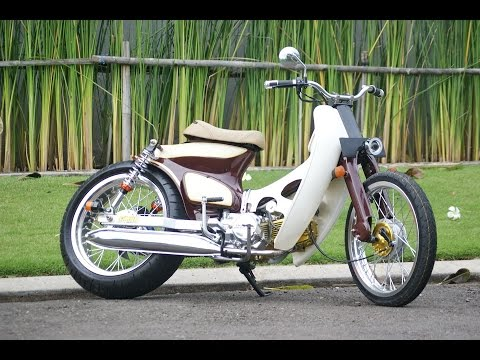 Modifikasi Honda Astrea Grand Street Cub Basic
