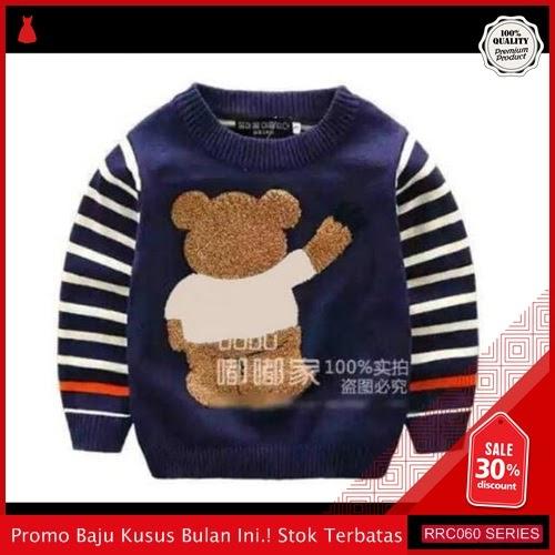 RRC060B32 Baju Bayi Anak Rajut Beruang Fashion Bayi BMGShop
