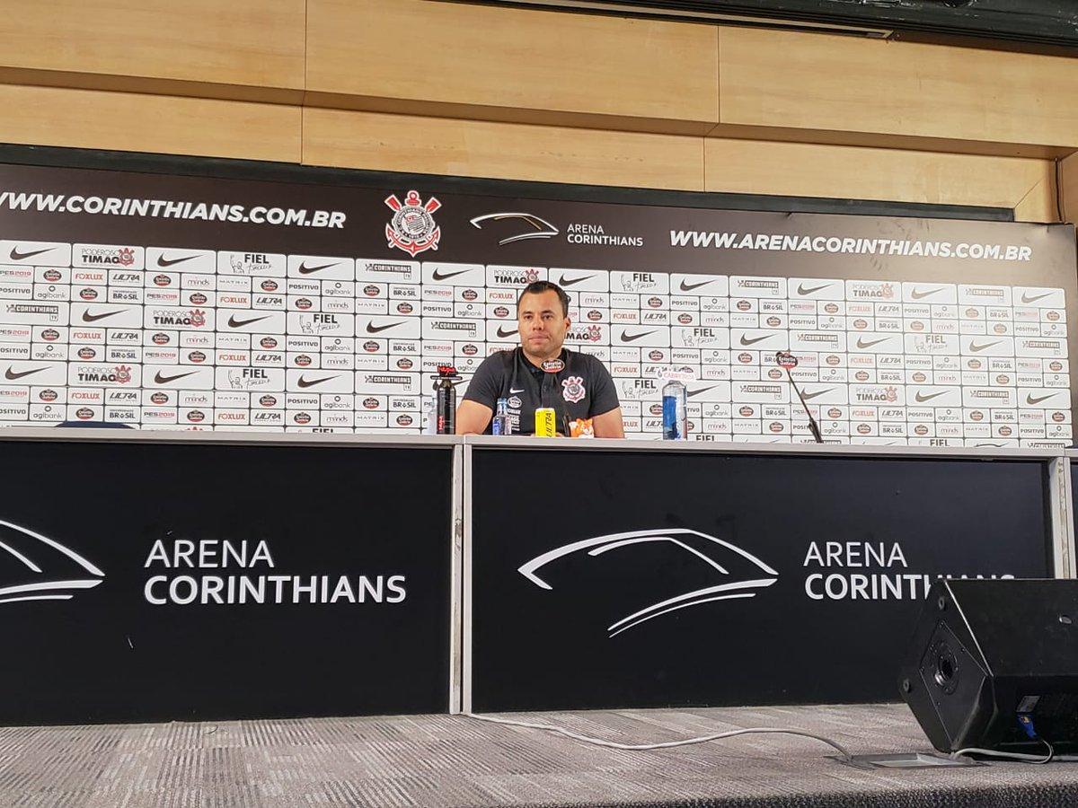 Jair Ventura coletiva Corinthians