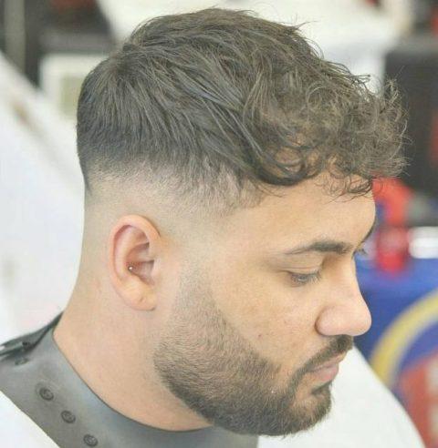 Potongan Rambut Pendek Pria Gemuk | Cahunit.com