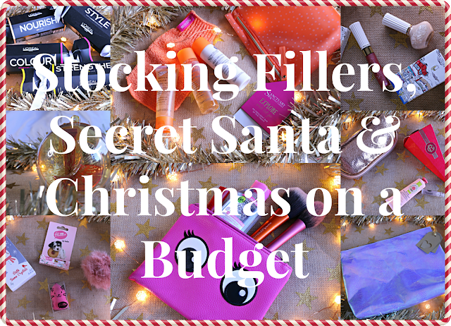 Stocking Fillers, Secret Santa and Christmas on a Budget Blog Post Image