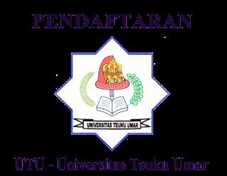 Pendaftaran UTU (Universitas Teuku Umar)