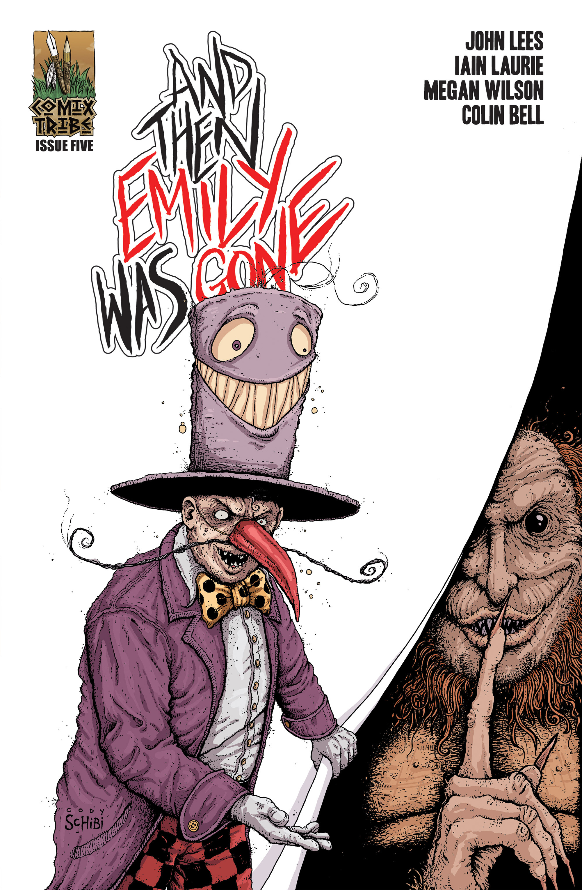 Read online And Then Emily Was Gone comic -  Issue #5 - 27