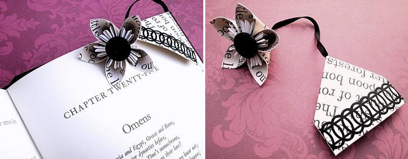 Creative Bookmark Design : Unusual bookmarks and unique bookmark designs part