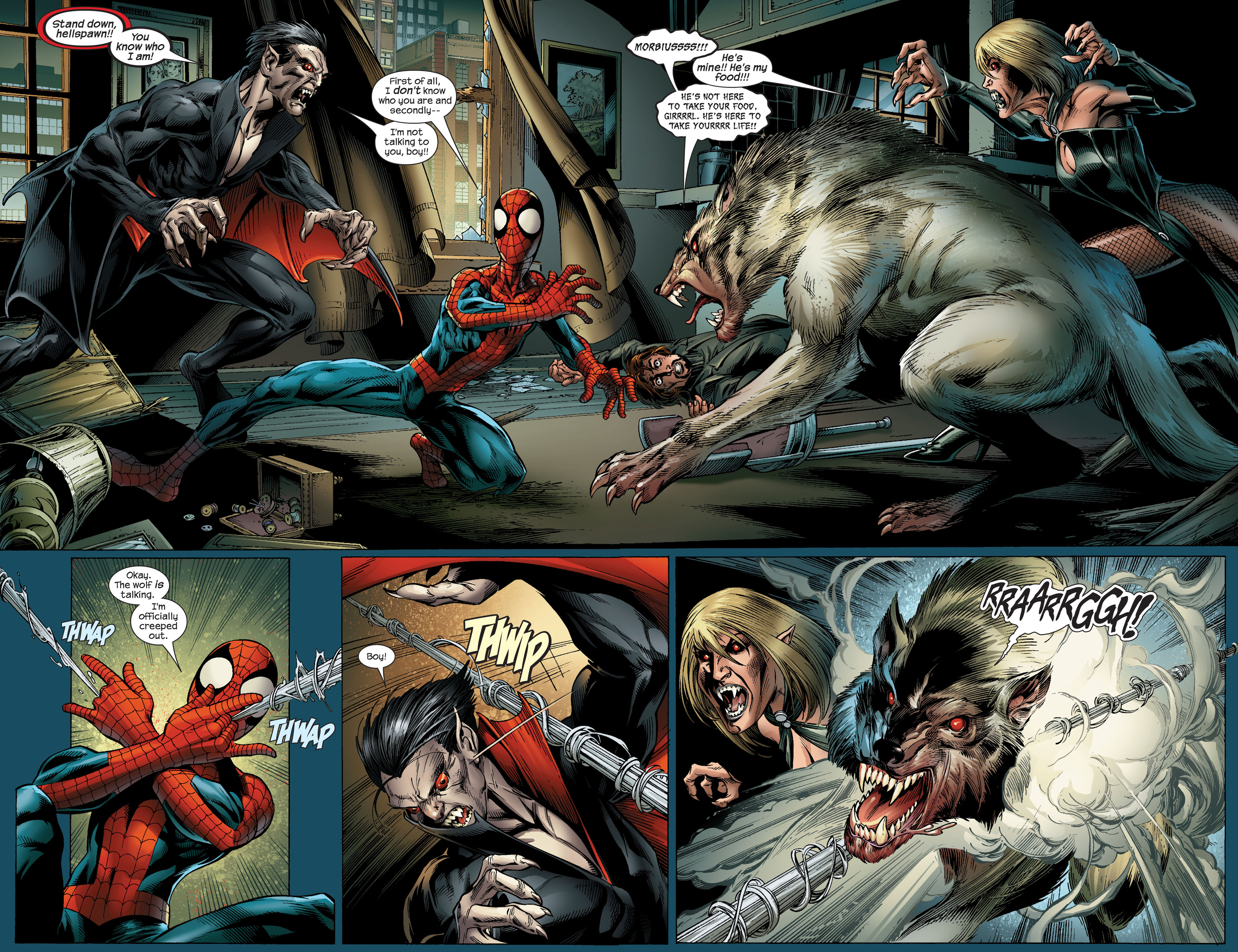 Read online Ultimate Spider-Man (2000) comic -  Issue #96 - 4