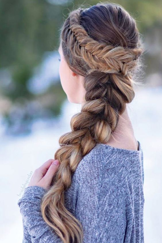 Gorgeous Braids For Cozy