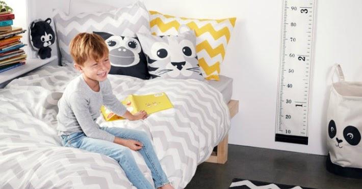 Decoraci n f cil animalitos y geometr a para dormitorios - Dormitorios infantiles nordicos ...