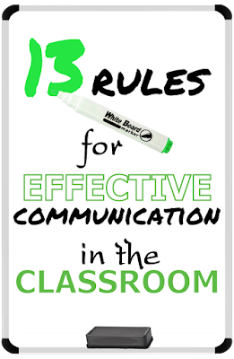 Even the most expert teacher has difficult moments trying to communicate effectively with students. We're super grateful for Roger and Becky Tirabassi's Secrets for Effective Communication that we've adapted to the teaching world. Totally shines a light on some simple but powerful tools.