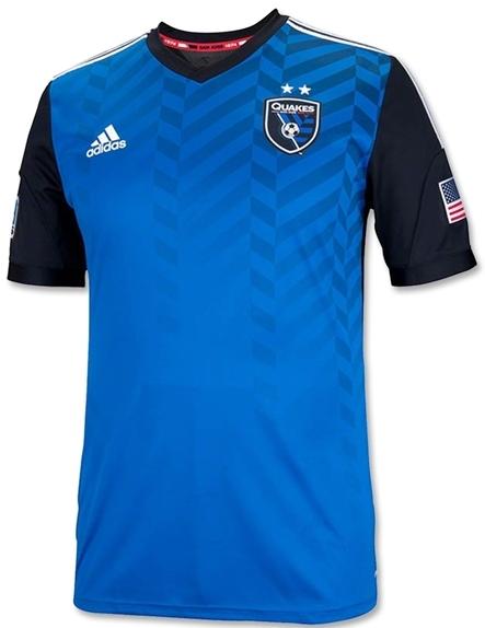 San Jose Earthquakes lança suas novas camisas - Show de Camisas 97d2421ebb545