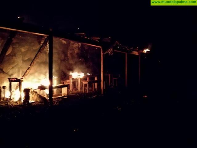 El Ayuntamiento de Puntallana desmiente que el incendio ocurrido en Martín Luis fuera un acto vandálico