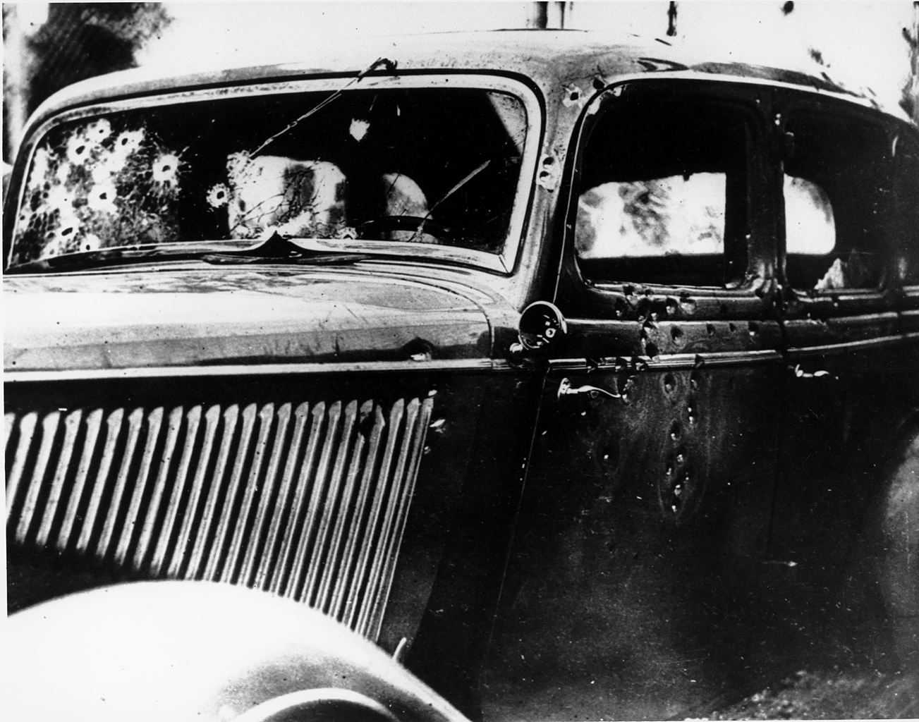 Bonnie And Clyde Car Model