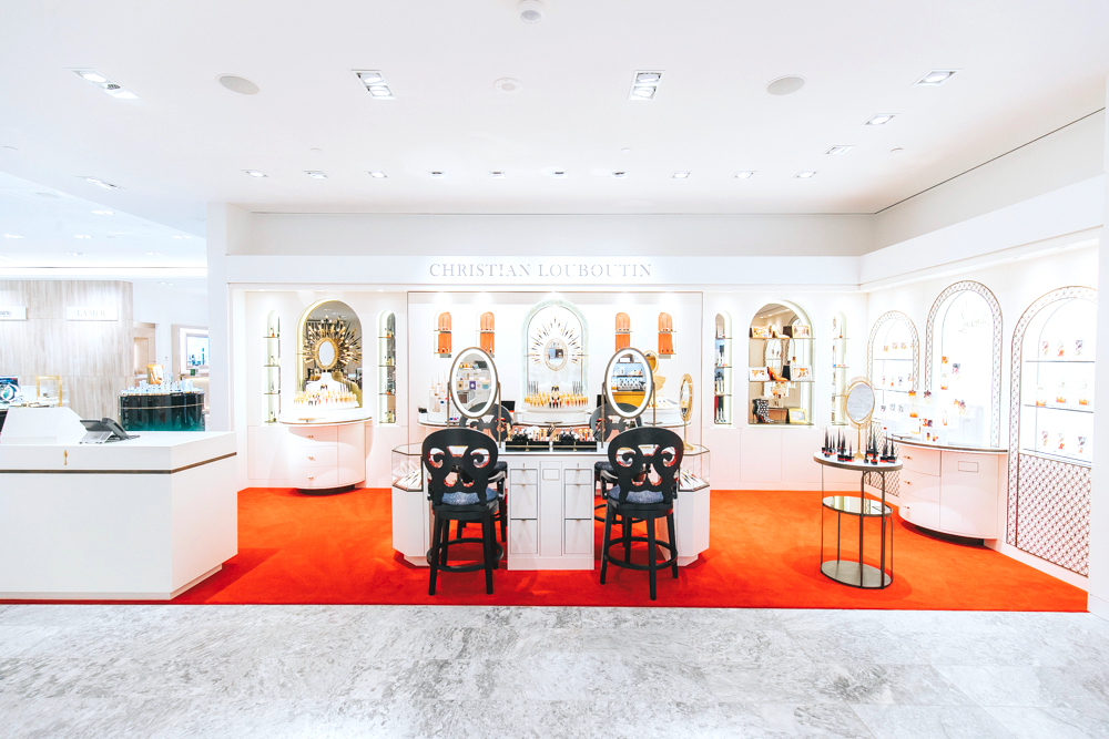 Holt Renfrew Vancouver | The New Beauty Hall | Christian Louboutin