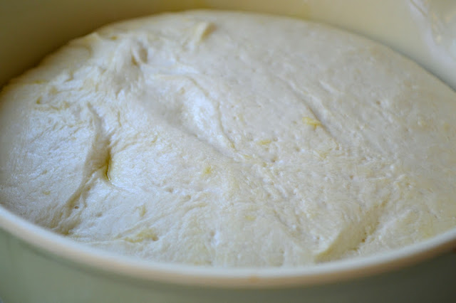 Homemade Laffa Bread dough