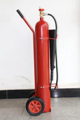 Bình chữa cháy đẩy khí CO2