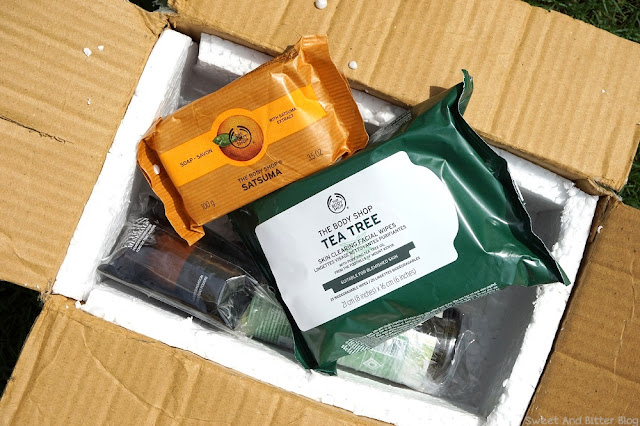 The Body Shop Online Packaging