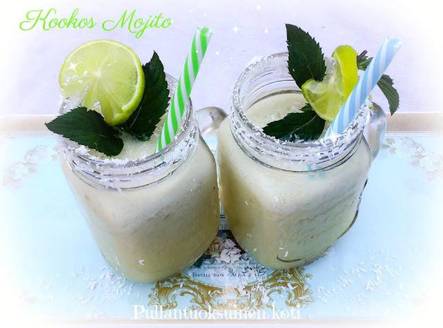#coconutmojito #drinkki #kesäjuoma #kookosjuoma #alpro #rum #resepti
