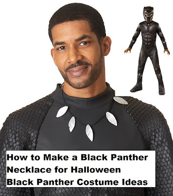 Black Panther Necklace and Costume Ideas