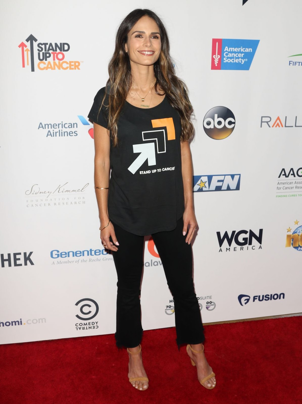 'Fast & Furious 8' actress Jordana Brewster At 5th Biennial Stand Up To Cancer In Los Angeles