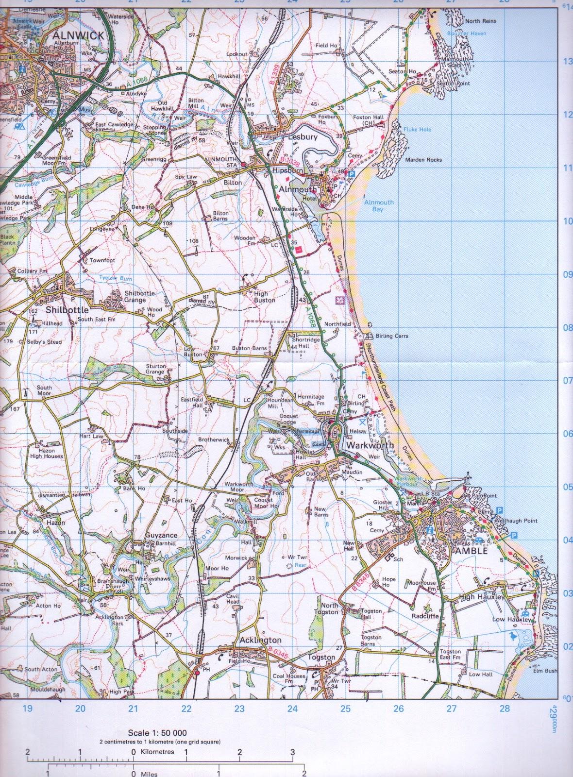 Geography Dc Year 7 Map Skills Test