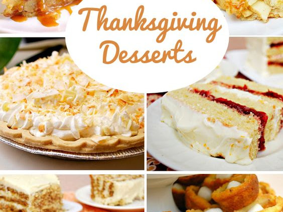 Recipe Round Up: Thanksgiving Desserts