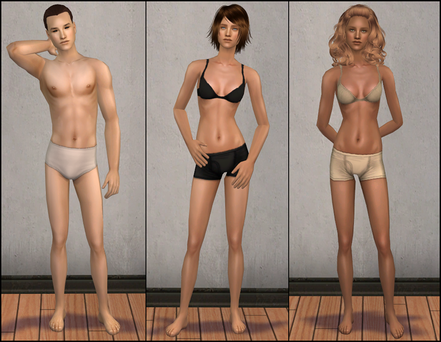 Mod The Sims - Naked Skins Sims