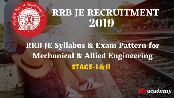 RRB JE Syllabus for Mechanical Engineering