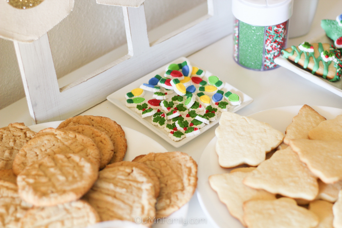 how to host a holiday cookie decorating party - Christmas Cookie Decorating Party