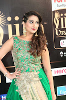 Manjusha in Beautiful Sleeveless Green Anarkali dress at IIFA Utsavam Awards 82.JPG