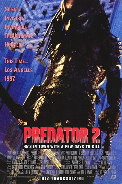 Predator 2 1990 movie poster