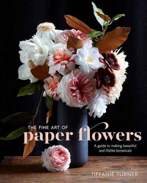 Crepe paper flowers by Tiffanie Turner