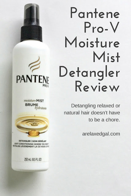 Detangling relaxed or natural hair can sometimes be a chore. That's why I sometimes use a detangler. See which one I chose as my staple detangler and why. | arelaxedgal.com