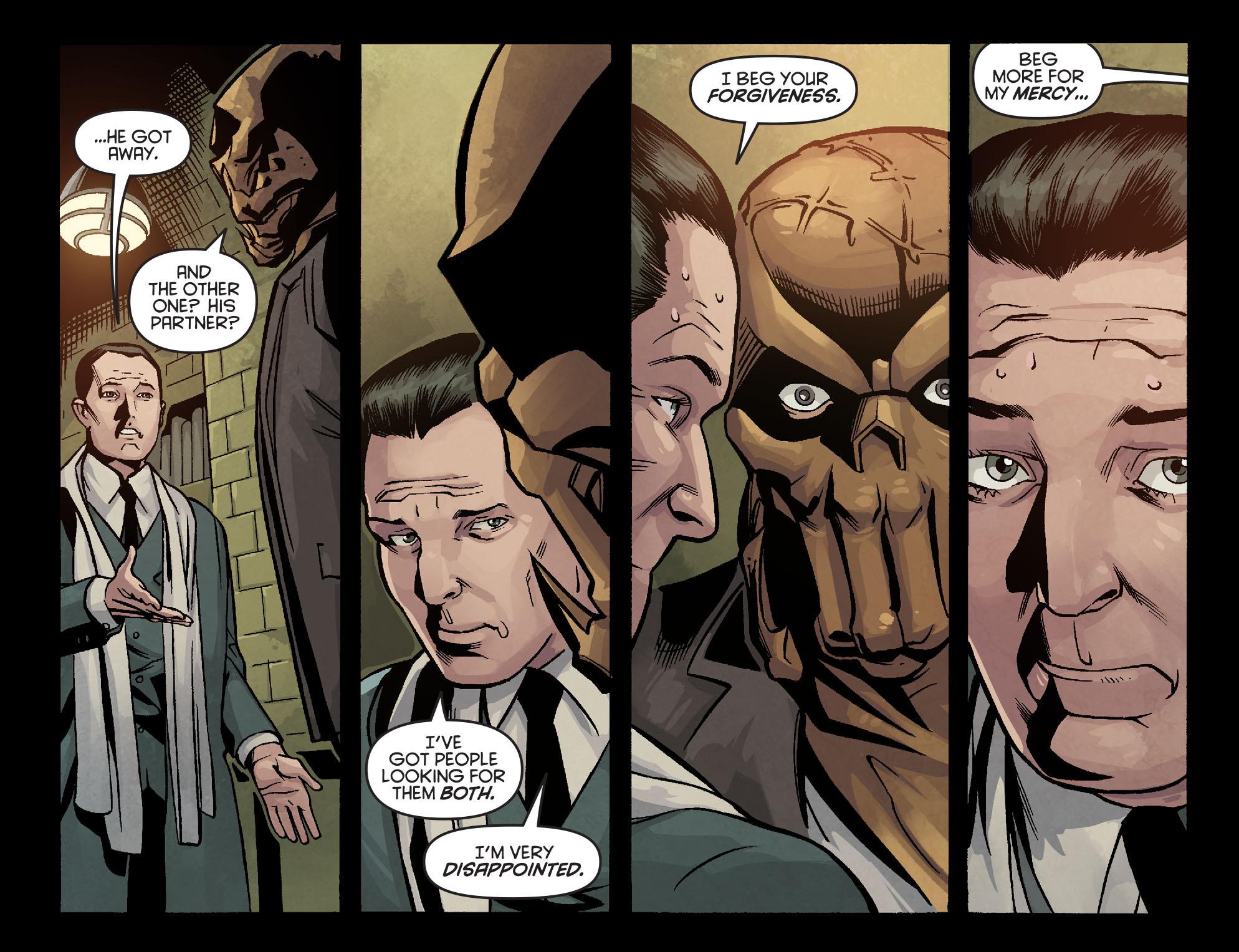 Read online Arrow: Season 2.5 [I] comic -  Issue #7 - 17