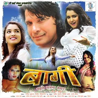 Viraj Bhatt, Amrapali Dubey and Monalisa Bhojpuri movie Baagi Bhaile Sajna Hamar 2015 wiki, full satr cast, Release date, Actor, actress, Song name, photo, poster, trailer, wallpaper