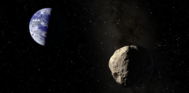 Large Asteroid Flies By Earth at a Safe Distance