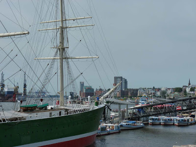 Hafen Hamburg, Rickmer Rickmers, Barkassen