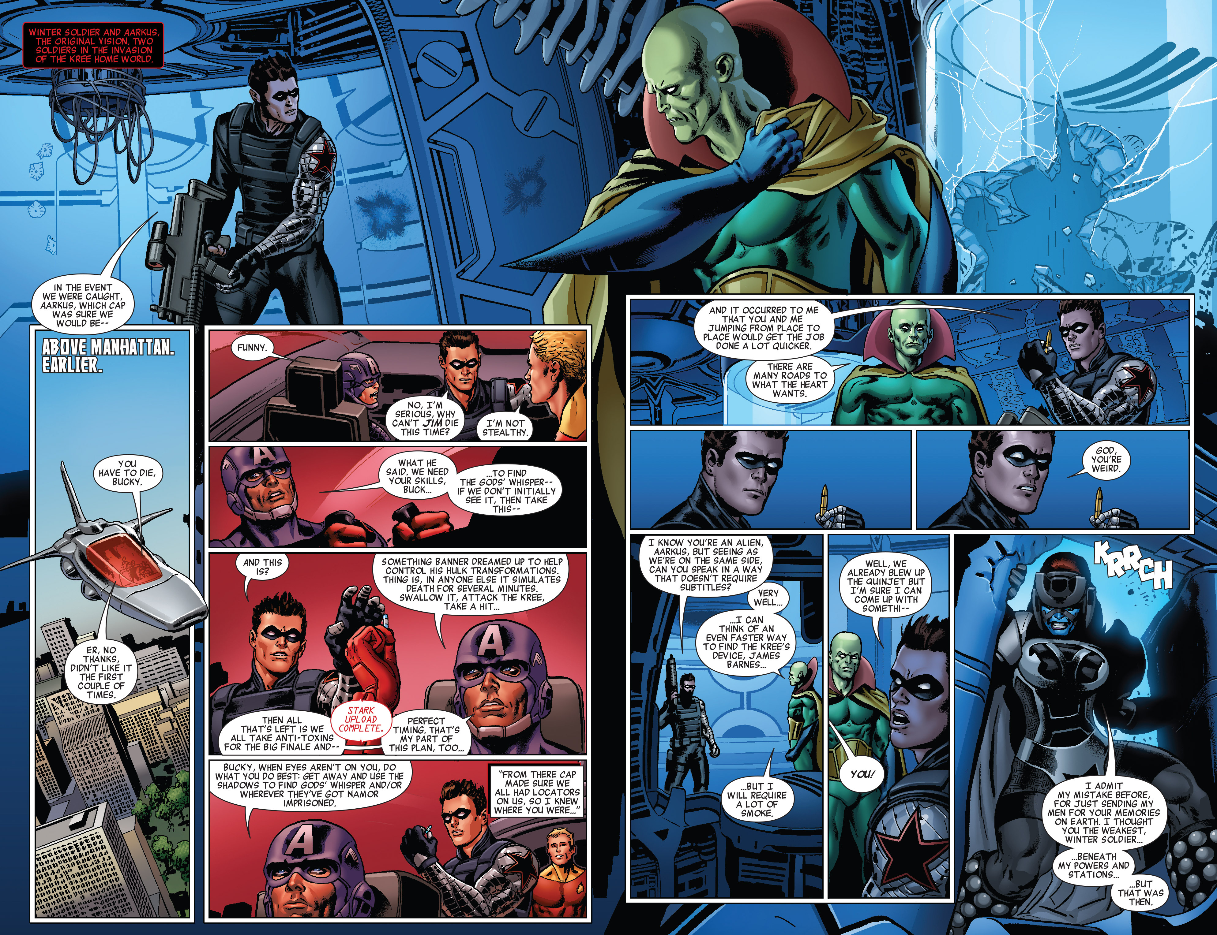 Read online All-New Invaders comic -  Issue #5 - 4