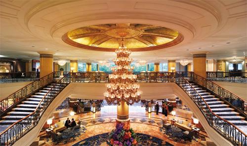 La Hall dello Shangri-La Makati di Manila