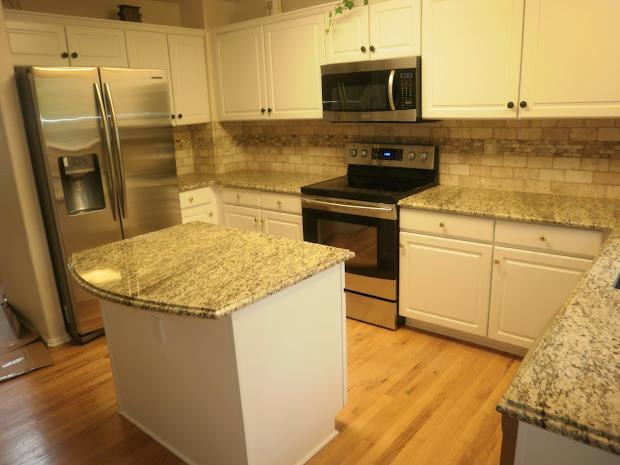 Santa Cecilia Backsplash Home Design Ideas New Backsplash For Santa Cecilia Granite Countertop