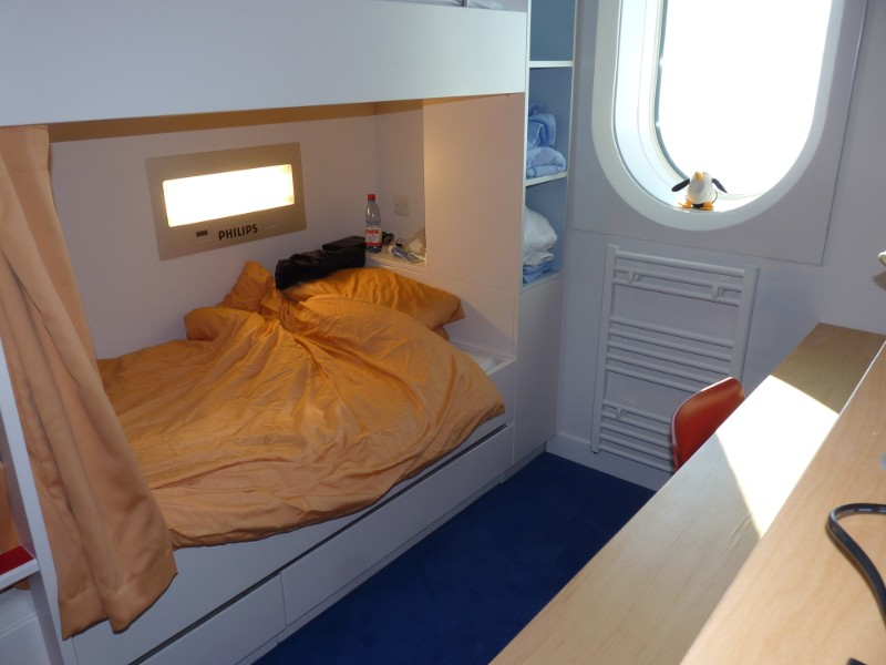 Ramblings To And From Antarctica Bedrooms At Halley Vi