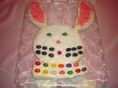 Margaret's Morsels | Easter Bunny Cake