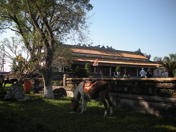 Palacio Thai Hoa. Ciudad Imperial Hue (Vietnam)