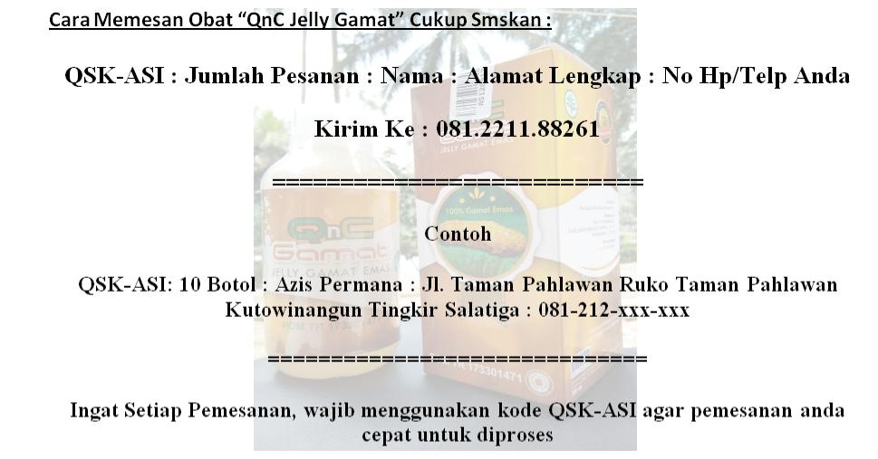 Penjual QnC Jelly Gamat Di Salatiga