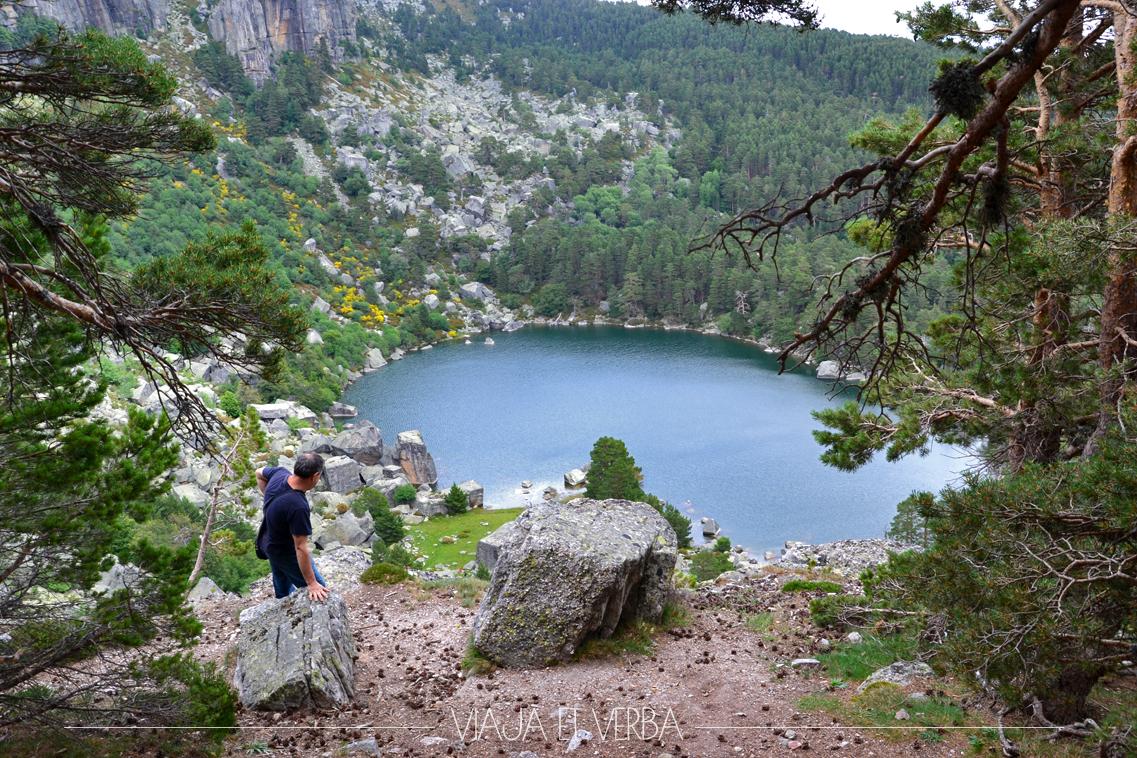 Vista de la Laguna Negra, Soria. Por Viaja et verba